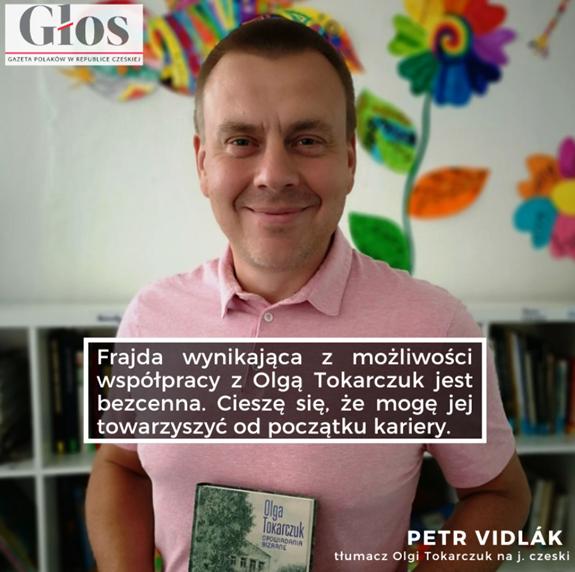 Překladatel Petr Vidlák (2019)