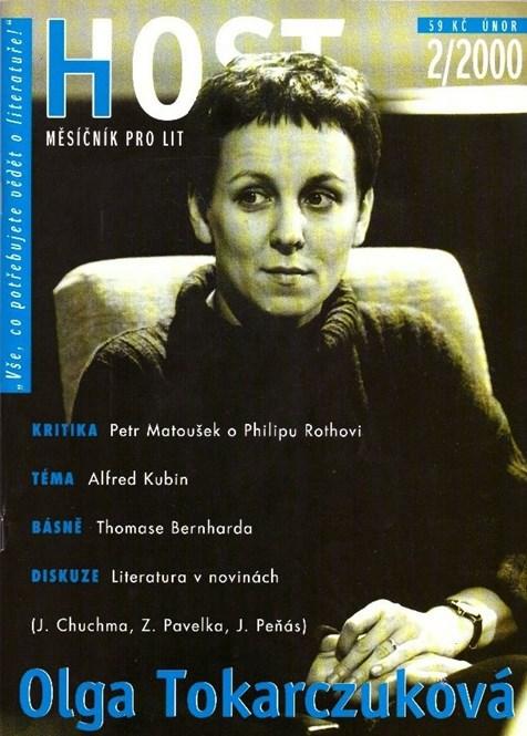 """""""Nelze opomíjet tu část života, která se odehrává v noci"""". Olga Tokarczuk v rozhovoru s Renatou Putzlacher-Buchtovou a její překlad povídky Skříň (Host 2/2000)."""