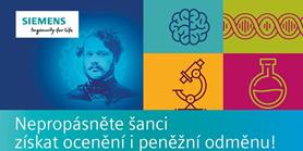 Zapojte se do soutěže Cena Wernera von Siemense