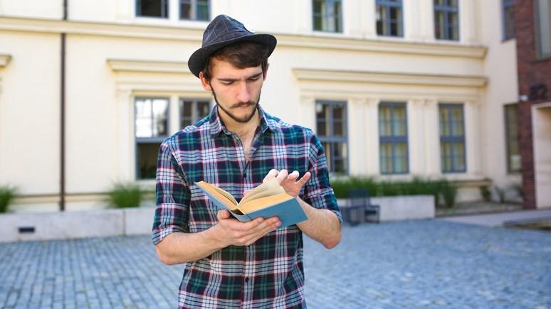 Benjamín hráče seznamuje také s antickou literaturou. Foto: Blanka Štolcová