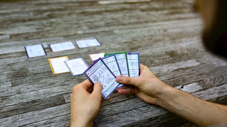 Prototyp hry Benjamín několikrát testoval a vylepšoval. Foto: Blanka Štolcová