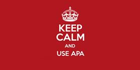 Nová verze citační normy APA