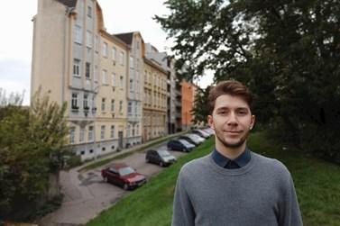 Petr Konečný studuje politologii. Foto: archiv Petra Konečného