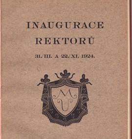 Ročenka MU 1922/23 - 1923/24