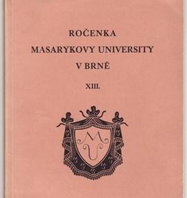 Ročenka MU 1931 /32