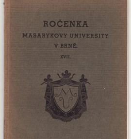 Ročenka MU 1935 / 36
