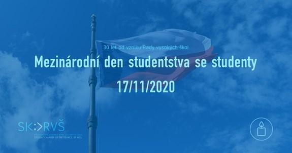 """<span style=""""font-weight: 400;"""">Mezinárodní den studentstva se studenty. Foto: Studentská komora Rady vysokých škol</span>"""