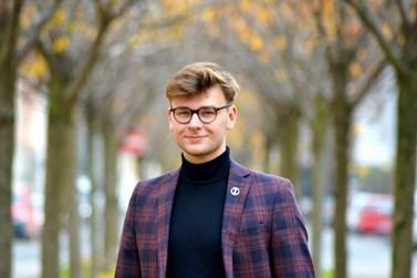 Nový člen Akademického senátu Masarykovy univerzity z fakulty sociálních studií. Foto: archiv Daniela Jirků