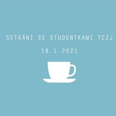 Setkání se studentkami TCZJ