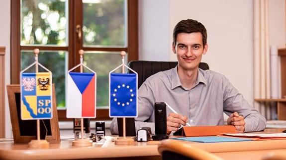Tomáš Pavelka, starosta obce Mořice. Foto: archiv Tomáše Pavelky