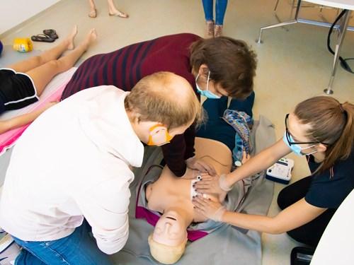 Simulační centrum Lékařské fakulty MU: Kurz první pomoci
