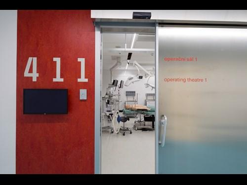 Simulační centrum Lékařské fakulty MU: operační sál