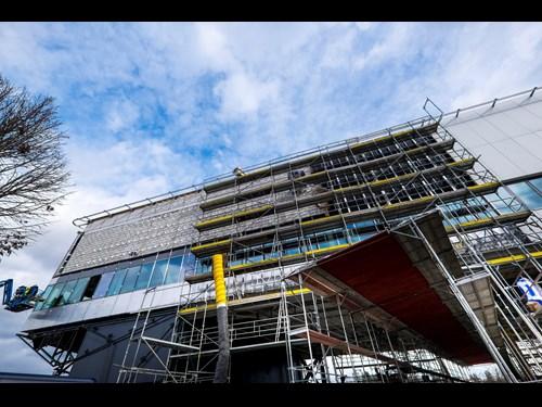Simulační centrum Lékařské fakulty MU: výstavba