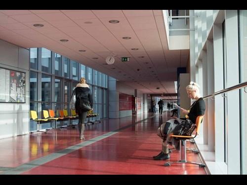 Univerzitní kampus Bohunice: koridor