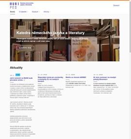 Katedra německého jazyka a literatury | MUNI PED