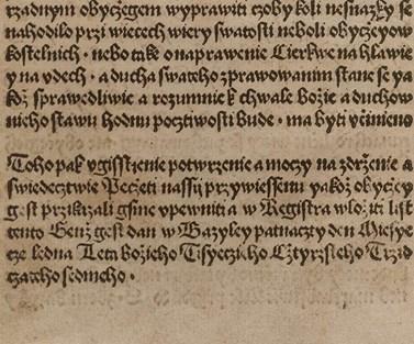 Tisk kompaktát z počátku 16. století
