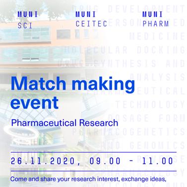 SCI-CEITEC-PHARM MatchMaking Event