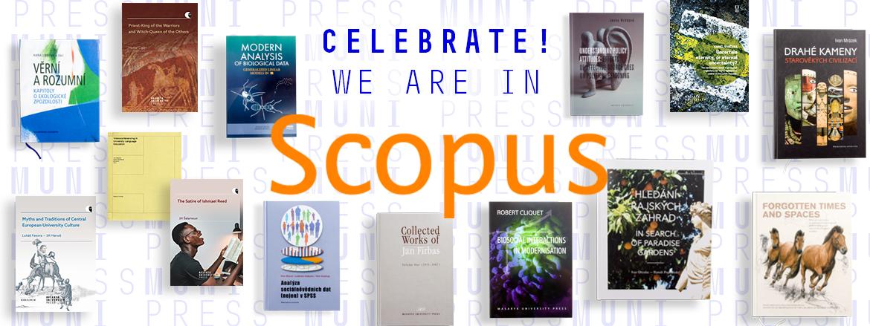 Nakladatelství Munipress bylo přijato do databáze SCOPUS!