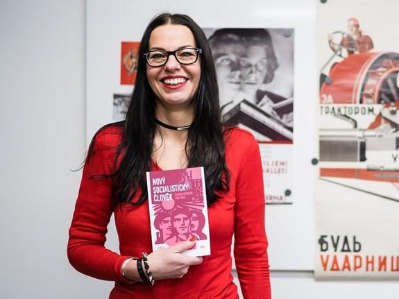 """Denisa Nečasová se mj. věnovala ideálu """"nového socialistického člověka"""". Foto: Jan Prokopius"""
