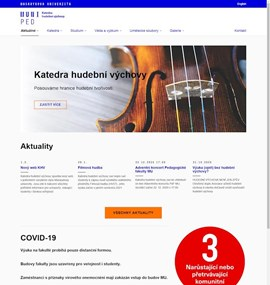 PdF - Katedra hudební výchovy