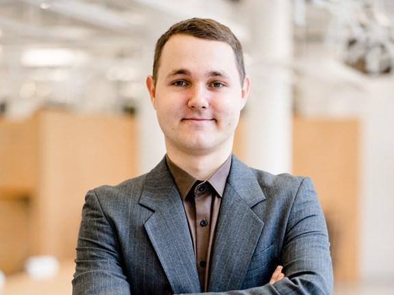 MartinVérteši je doktorand politologie a magisterský student žurnalistiky. Foto: archiv Martina Vértešiho