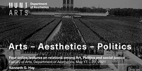 ESAA31 Arts – Aesthetics – Politics