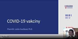Expertka CZECRIN vzdělává mladou generaci na téma Očkování proti Covid-19