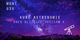 Startuje již 10. kurz astronomie na U3V