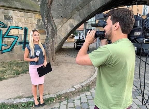 Simona Šimková si umí představit i práci moderátorky, chyběla by jí ale práce vterénu. Foto: archiv Simony Šimkové