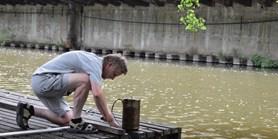 Měří znečištění vody, aniž by zabíjeli ryby