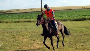Mezi Burdovy volnočasové aktivity patří jízda na koních. Foto: archiv Robina Burdy
