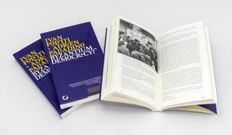 Monografie Adriena Palladina Byzantium or Democracy? Foto: www.earlymedievalstudies.com