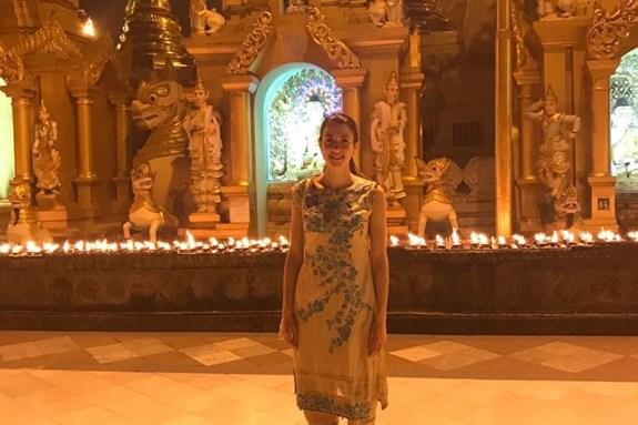 Ještě před koronavirovou krizí jezdívala Veronika Fawad do válkou postižených zemí, například do Myanmaru. Foto: archiv Veroniky Fawad
