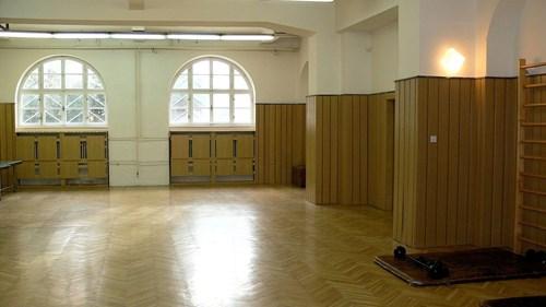 The Klácelova Halls of Residence - gym