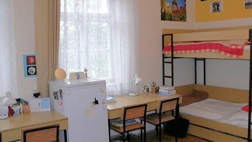 The Klácelova Halls of Residence - room
