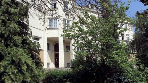 The Klácelova Halls of Residence – halls of residence building