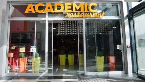 Academic restaurant - Vsup do AR