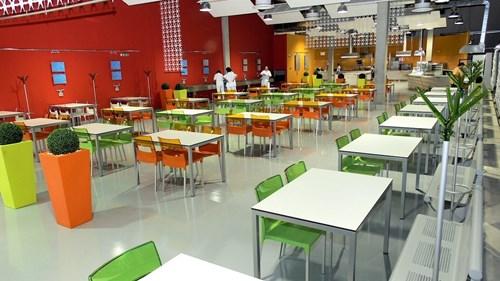 Academic restaurant - menza AR jídelna