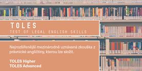 CJV vypisuje termíny mezinárodních zkoušek zprávnické angličtiny TOLES
