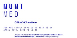 Invitation to online CEBHC-KT Webinar