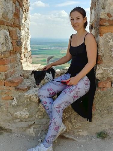 Ačkoliv Jahodová podlehla návštěvám exotických míst, na Česko nezanevřela. Mezi její nejoblíbenější místa patří Pálava. Foto: archiv Barbory Jahodové