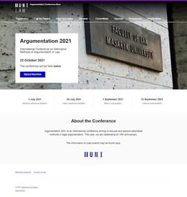 Argumentation Conference Brno   MUNI LAW