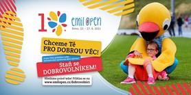 Staň se dobrovolníkem na Evropských hrách Emil Open!