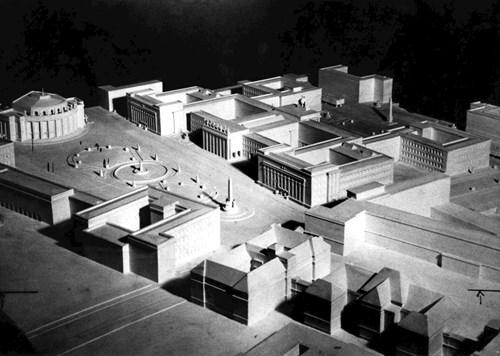 Model plánovaného kampusu na Veveří Foto: Masarykova univerzita