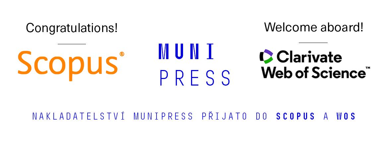 Nakladatelství Munipress přijato do Scopus a WoS