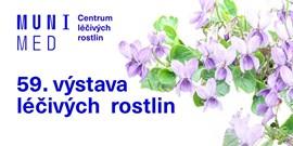 Výstava léčivých rostlin vCentru léčivých rostlin LF MU