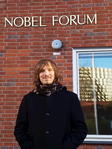 Ještě nedávno chodil na přednášky jako student, nyní Kraus působí na katedře psychologie jako odborný asistent. Foto: archiv Jakuba Krause