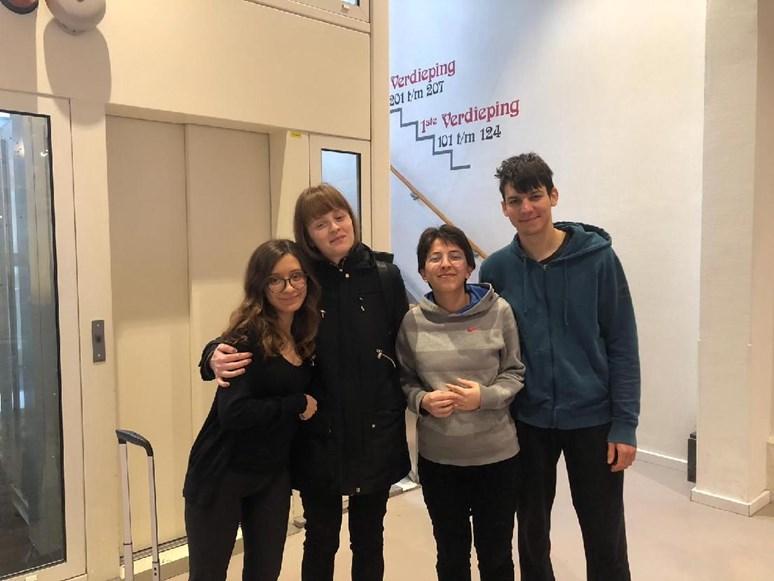 Minulý rok Kadlčíková přes program Erasmus navštívila Nizozemí. Tamní školní systém jí vyhovoval, líbilo se jí, že kurzů bylo málo, ale byly velmi intenzivní a šly do hloubky zkoumaného tématu. Foto: archiv Silvie Kadlčíkové