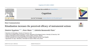 Ritualizace zvyšuje vnímanou efektivitu činností