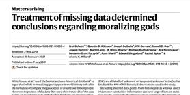 Missing gods or data?